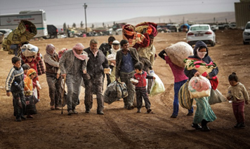 逃離家園的難民