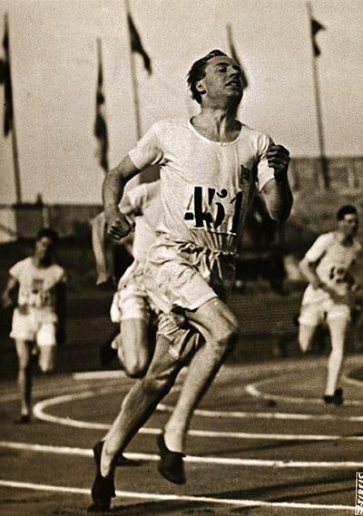 1924年埃里克奪得400米奧運金牌