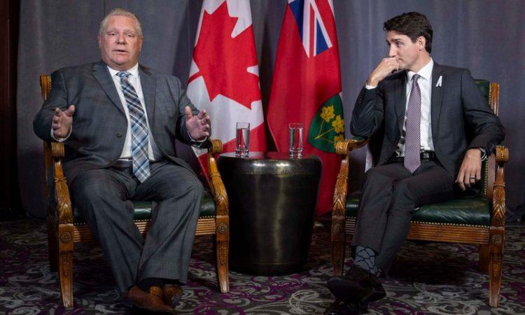 Justin Trudeau Doug Ford